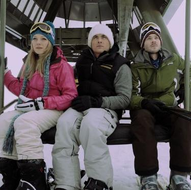 "Emma Bell, Kevin Zegers and Shawn Ashmore in ""Frozen."""