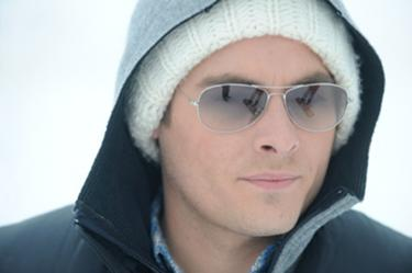 "Kevin Zegers in ""Frozen."""