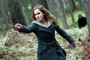 "Emma Watson in ""Harry Potter and the Deathly Hallows: Part 1'"