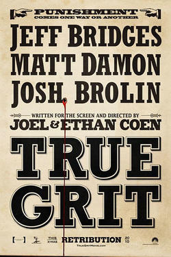 "Poster art for ""True Grit"""