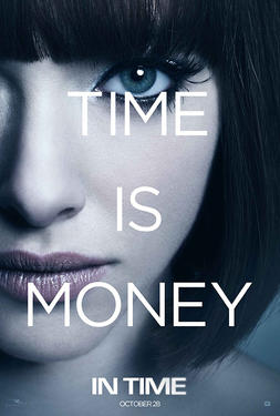 "Poster art for ""In Time."""