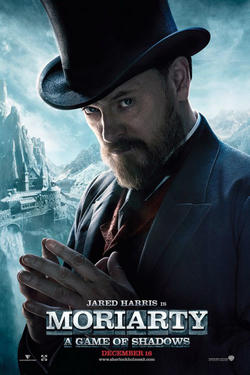 "Character poster art for ""Sherlock Holmes: A Game of Shadows."""