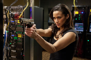 "Paula Patton as Jane Carter in ""Mission: Impossible - Ghost Protocol."""