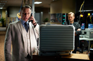 "Michael Nyqvist as Kurt Hendricks in ""Mission: Impossible - Ghost Protocol."""