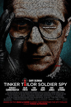 Poster Art for &quot;Tinker, Taylor, Soldier, Spy.&quot;