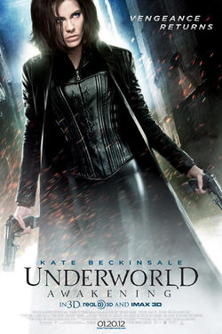 "poster art for ""Underworld Awakening: An IMAX 3D Experience."""