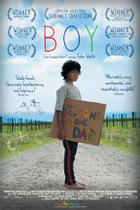 Poster art for &quot;Boy.&quot;