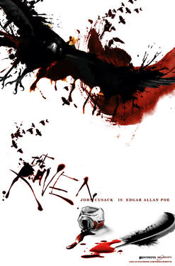 "Comic-Con Poster art for ""The Raven."""