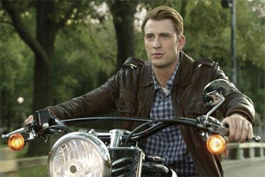 "Chris Evans as Steve Rogers in ""The Avengers."""