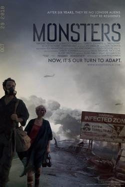 "Poster art for ""Monsters."""