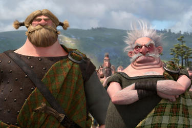 Lord MacGuffin and Lord Dingwall in ``Brave.''