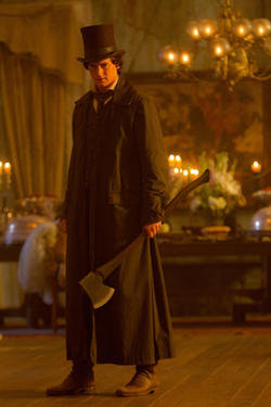 "A scene from ""Abraham Lincoln: Vampire Hunter."""