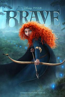 """Poster art for """"Brave."""""""