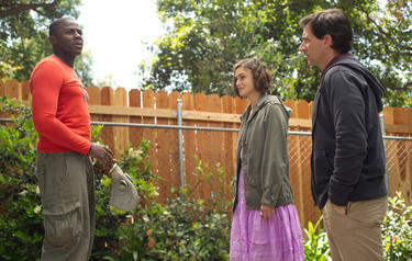 """Derek Luke as Speck, Keira Knightley as Penny and Steve Carell as Dodge in """"Seeking a Friend for the End of the World."""""""