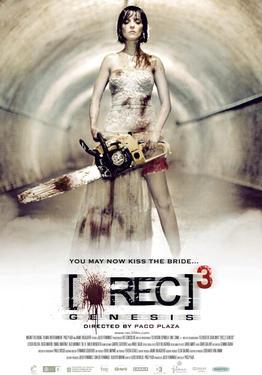 """Poster art for """"[REC] 3: Genesis."""""""