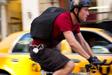 "Joseph Gordon-Levitt in ""Premium Rush."""