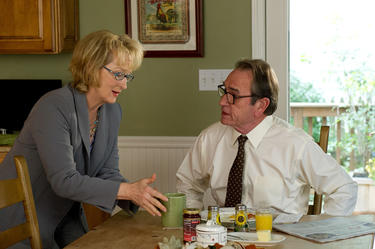 "Meryl Streep as Kay Soames and Tommy Lee Jones as Arnold Soames in ""Hope Springs."""