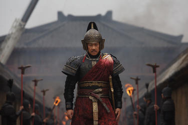 "Wang Xueqi as Tuan Gu ""Sacrifice."""
