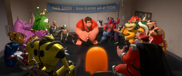"Ralph voiced by John C. Reilly in ""Wreck-It Ralph."""
