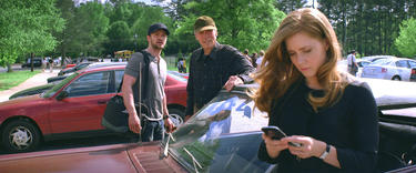 "Justin Timberlake as Johnny, Clint Eastwood as Gus and Amy Adams as Mickey in ""Trouble With the Curve."""