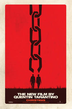 "Teaser poster art for ""Django Unchained."""