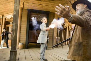 "Christoph Waltz in ""Django Unchained."""