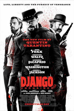 "Poster art for ""Django Unchained."""