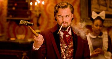 "Leonardo DiCaprio in ""Django Unchained."""