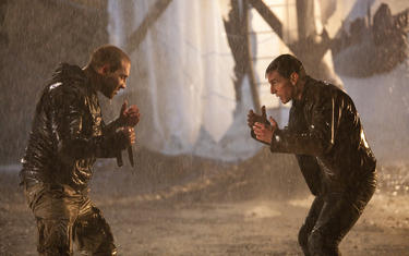 Tom Cruise as Reacher and Jai Courtney as Charlie in &quot;Jack Reacher.&quot;