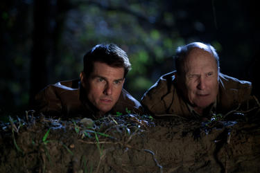 A scene from &quot;Jack Reacher.&quot;