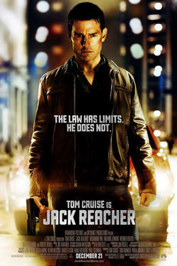 Poster art for &quot;Jack Reacher.&quot;