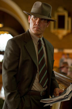 "Josh Brolin as Sgt. John O'Mara in ""Gangster Squad."""
