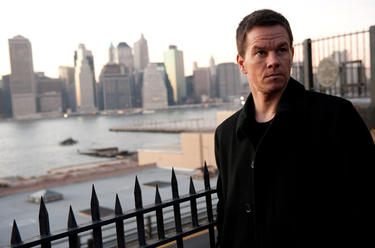 "Mark Wahlberg as Billy Taggart in ""Broken City."""