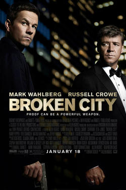 "Poster art for ""Broken City."""