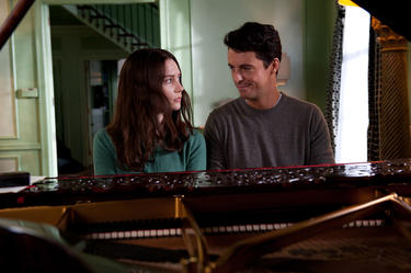 "Mia Wasikowska as India and Matthew Goode as Uncle Charlie in ""Stoker."""