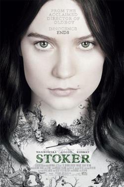 """Poster art for """"Stoker."""""""