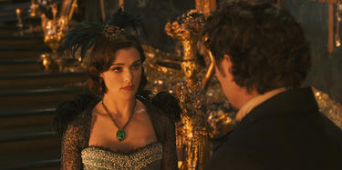 "Rachel Weisz and James Franco in ""Oz: The Great and Powerful."""