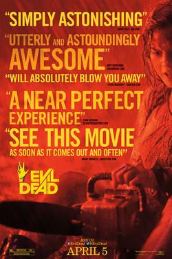 """Poster art for """"Evil Dead."""""""