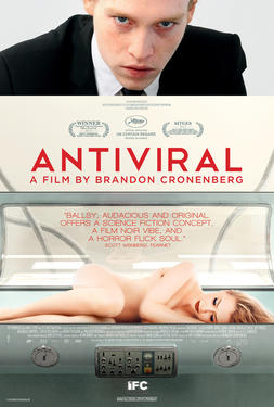"""Poster art for """"Antiviral."""""""