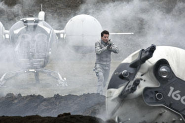 "Tom Cruise in ""Oblivion: The IMAX Experience."""