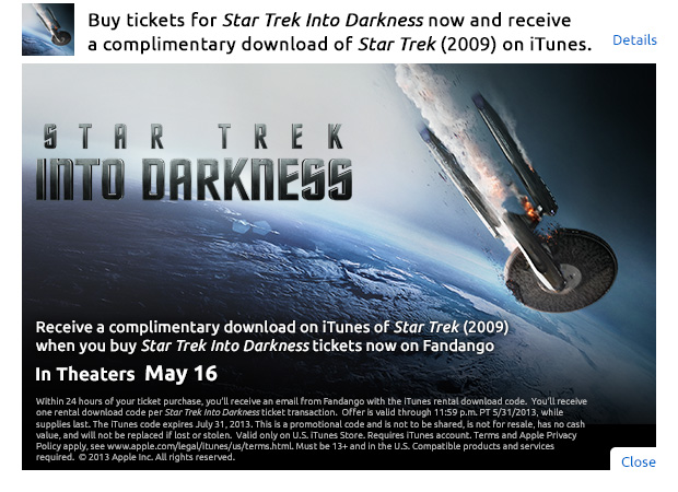 Star Trek Complimentary Download 