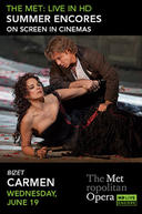 Poster for Carmen Met Summer Encore