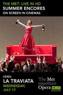 Poster for La Traviata Met Summer Encore