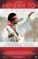 Poster for Hendrix 70: Live at Woodstock / Led Zeppelin - Celebration Day