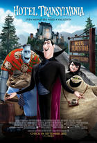 "Poster art for ""Hotel Transylvania."""
