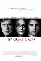 &quot;Lions for Lambs&quot; poster art.
