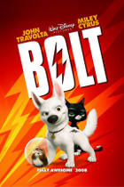 Poster art for &quot;Bolt.&quot;