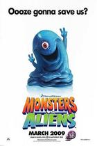 Poster art for &quot;Monsters vs. Aliens.&quot;