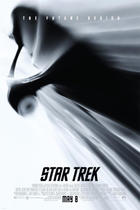 "Poster art for ""Star Trek."""