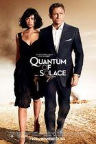 "Poster art for ""Quantum of Solace."""